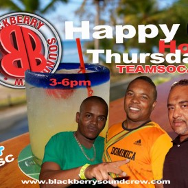 Happy Hour Thursdays on Team Soca